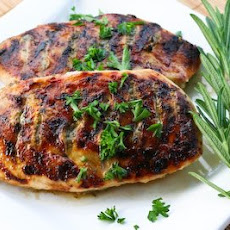 Grilled Chicken Recipe with Sage, Rosemary, and Garlic Dried Herb Rub