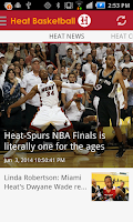 Screenshot of Heat Basketball