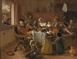 RIJKS: Jan Havicksz. Steen: The Merry Family 1668