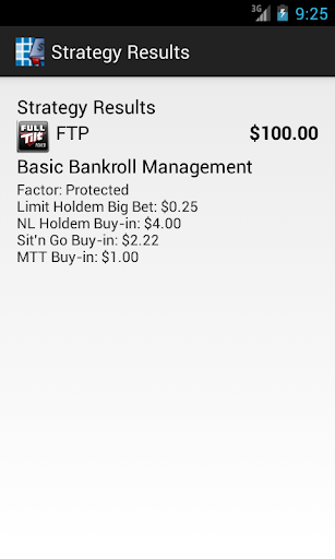 ITM Poker Bankroll Manager - screenshot