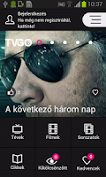 Screenshot of TV GO