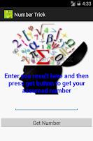Screenshot of Number Trick