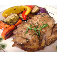 Roasted Rosemary Chicken And Vegetables