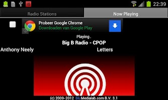 Screenshot of 广播中国 (China RADIO)