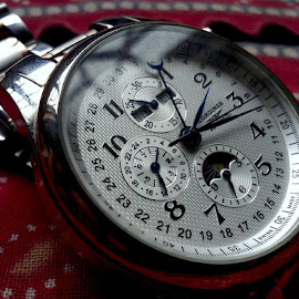 Watch_2 by Nitin Sharma - Abstract Macro ( macro, timepiece, time, watches, closeup, object )