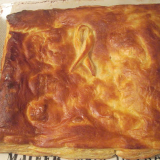 Easy Smoked Turkey, Cheese and Mushroom Puff Pastry