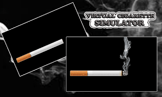 Screenshot of Virtual Cigarette Simulator