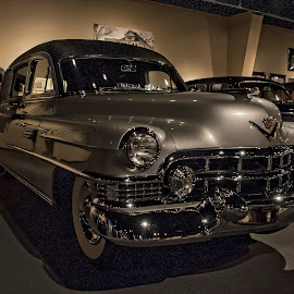 Cadillac Hearse by Marc Pelletier - Transportation Automobiles ( car, cadillac, houston, vintage car, collection, hearse )