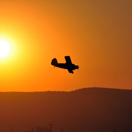 Around the Sun by Ovidiu Pauliuc - Transportation Airplanes