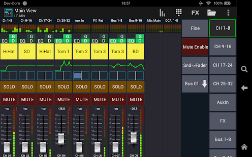 Mixing Station XM32 Pro- screenshot thumbnail