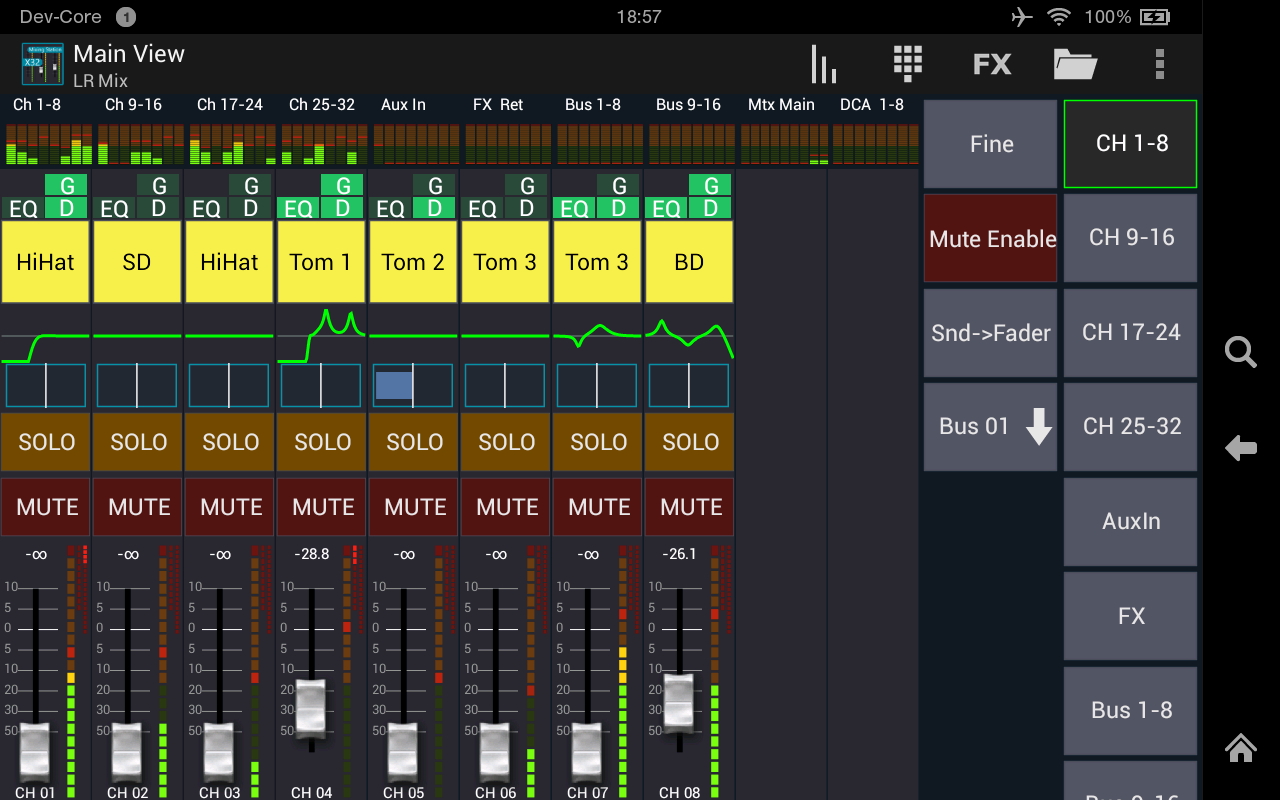 Mixing Station XM32 Pro Screenshot 10