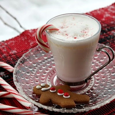 White Chocolate and Peppermint Hot Chocolate
