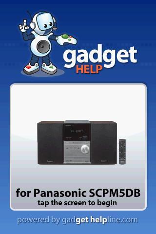 Panasonic SCPM5DP- Gadget Help