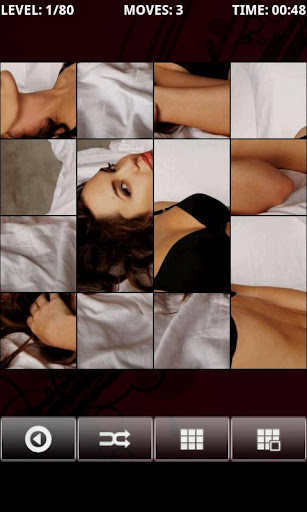 hot-angelina-jolie-puzzlebox for android screenshot