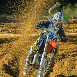 Dirts Flyin by Lynn Wiezycki - Sports & Fitness Motorsports ( motocross, dade city motocross, track, sports, action, motorcycle, mx, dirt, motorsports )