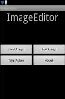 Screenshot of Image Editor
