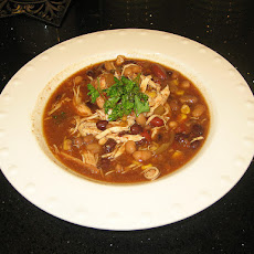 Awesome Beef or Chicken Taco Soup
