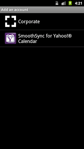 SmoothSync for Yahoo ® Calenda