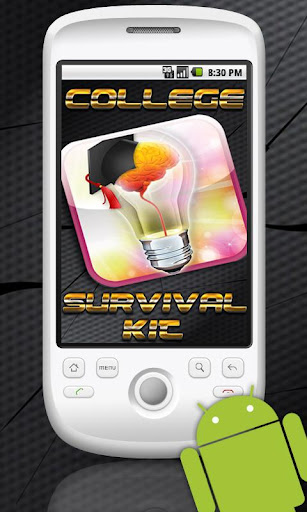 College Survival Kit App