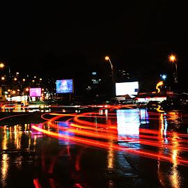 Night Rush by Vlad Cocuz - Transportation Automobiles (  )