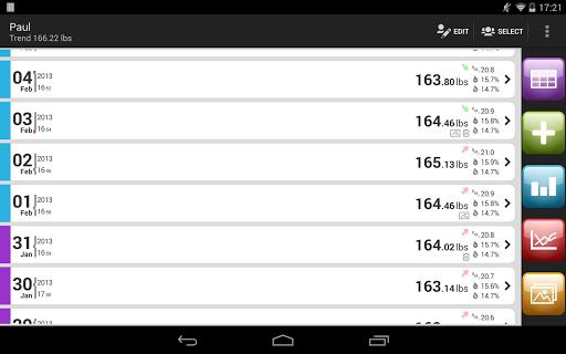 Weight Meter ideal weight, BMI - screenshot