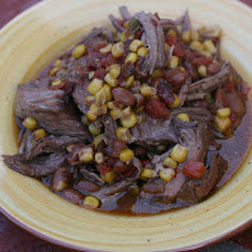 CrockPot Tex Mex Pot Roast