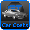 Car Costs fuel consumption icon
