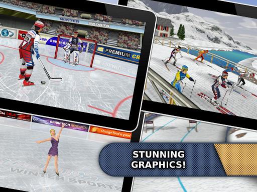 Athletics: Winter Sports - screenshot
