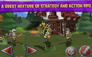 Screenshot of Monster Wars