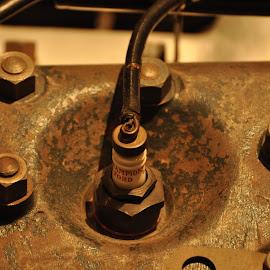 Spark Plug by Steve Evans - Transportation Automobiles