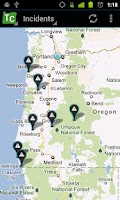 Screenshot of Oregon Trip Checker