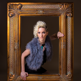 mirror mirror on the wall by Michael Payne - People Fashion ( mirror, portraits of women, female, portrait,  )