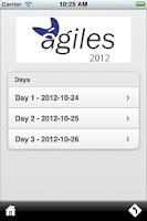 Screenshot of Agiles 2012