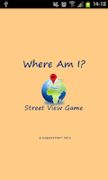 Screenshot of Where Am I? Street View Game
