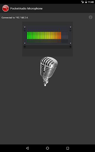 PocketAudio Microphone - screenshot