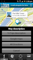 Screenshot of TcTrips Paris