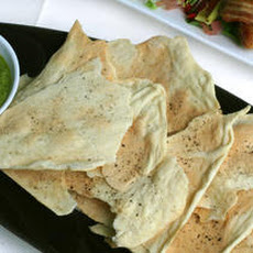 Black Pepper Lavash Recipe