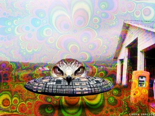 Surreal art by Larry Carlson
