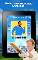 Screenshot of Guess The Cricket Star