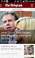 Screenshot of The Telegraph - Macon, GA news