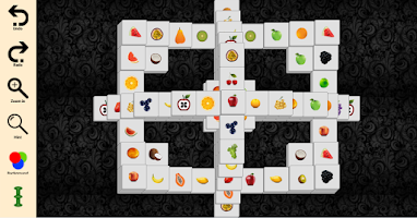 Screenshot of Mahjong solitair (Fruit)