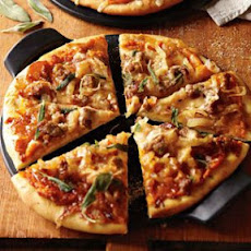 Caramelized Onion and Gruyère Pizza