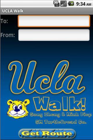 UCLA Walk