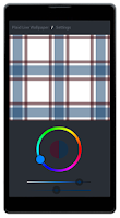 Screenshot of Plaid Live Wallpaper FREE