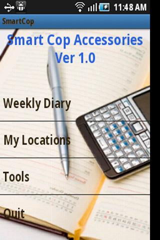 Smartcop a diary for cops