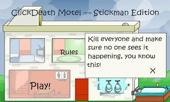 Screenshot of Stickman Stick Death Motel