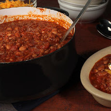 Chipotle, Beef, and Bean Chili Recipe