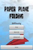 Screenshot of Paper Plane Folding