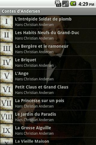 Contes d'Andersen Français
