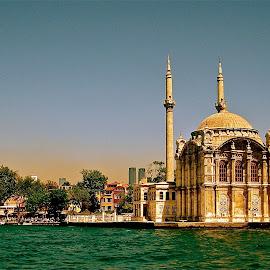 Along the Bosphorus Straight in Turkey by Tyrell Heaton - City,  Street & Park  Historic Districts ( bosphorus straight, turkey )